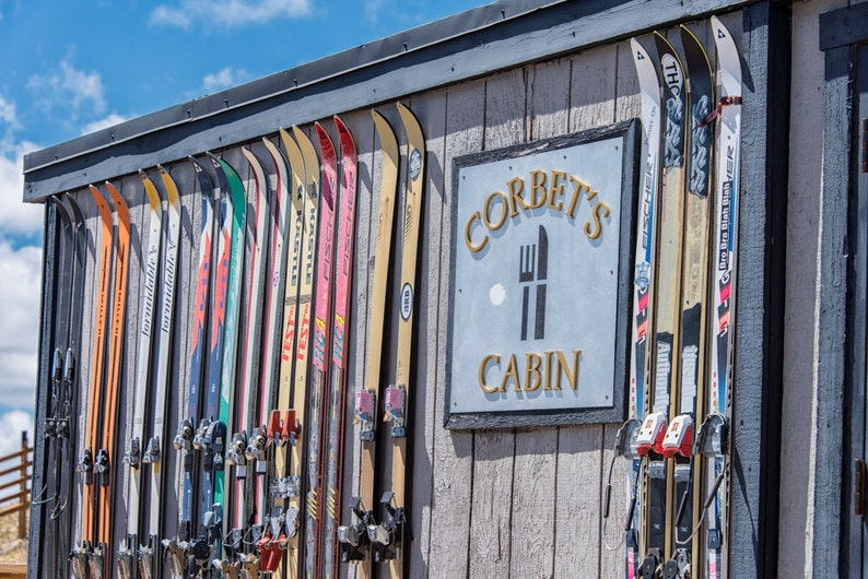 Landscape Photography - Jackson Hole Mountain Resort - Corbet's Cabin