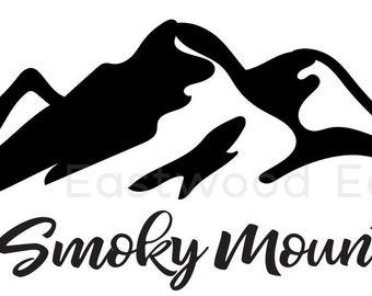 Smoky Mountains Etsy