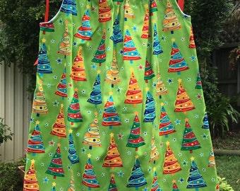 Girls Christmas Dress Sizes 1, 2, 3, 4, 5, 6 or 7