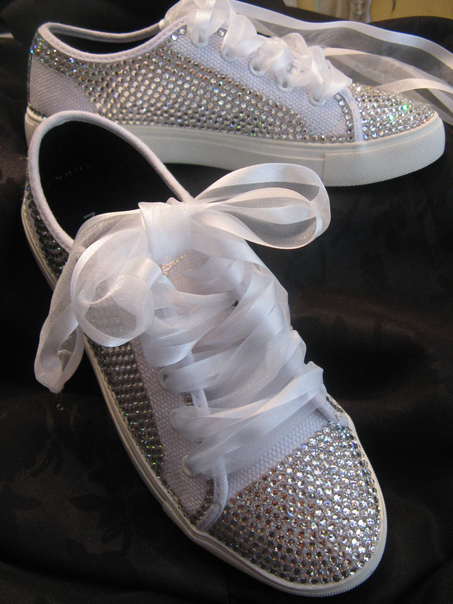 637c924b91f7 CUSTOM SWAROVSKI SNEAKERS-Send Us Your SneakersSparkle Up