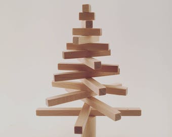 Christmas tree, wooden Christmas tree, ecofriendly tree, minimal design tree, reclaimed wooden tree, home decor, living decor, xmas decor