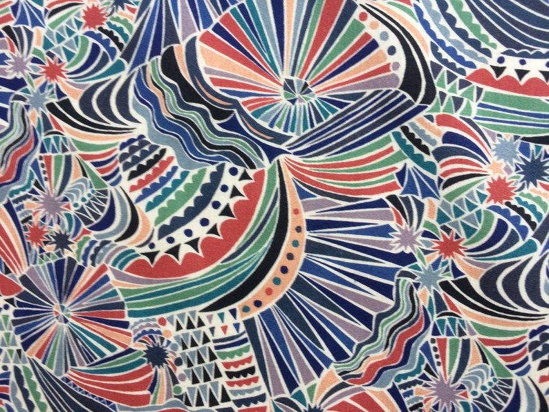IMAGINATION   A  1.00 Metre by LIBERTY on Tana  Lawn Cotton From the Very Latest Collection.