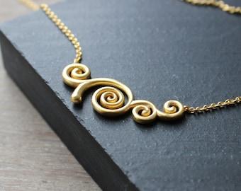 Klimt Tree of Life Necklace, Gustav Klimt Necklace, Gold Tree of life Necklace, Silver Tree of Life Necklace