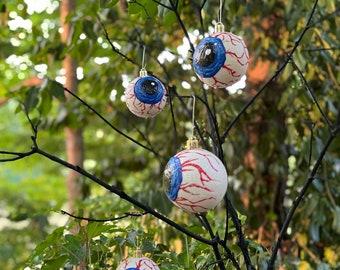 Halloween Eyeball Ornaments ,Spooky Home Decor, Eyeball Ornaments,Halloween Ornaments for Tree, Halloween Tree Decor, Halloween Gift
