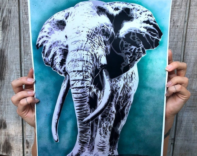 "Wisdom Limited Edition 11""x17"" Print 