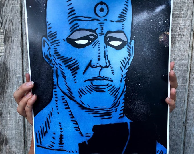 "Dr Smurf Limited Edition 11""x17"" Print 