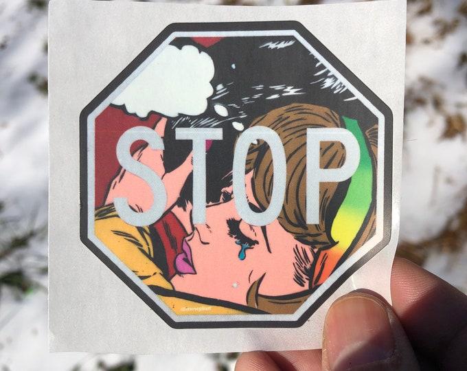 "SO 3"" x 3"" sticker"