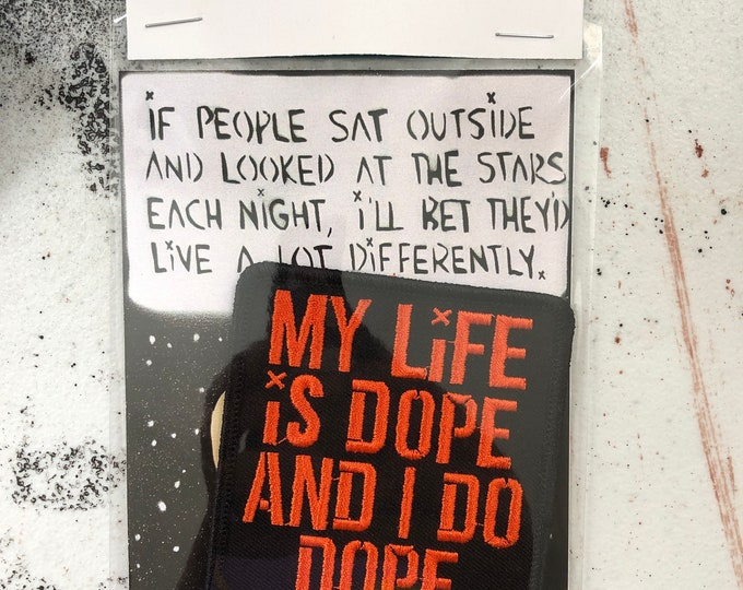 My Life is Dope Patch | Patch by MOWGLI art