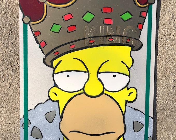 King of Quarantine | street sign original