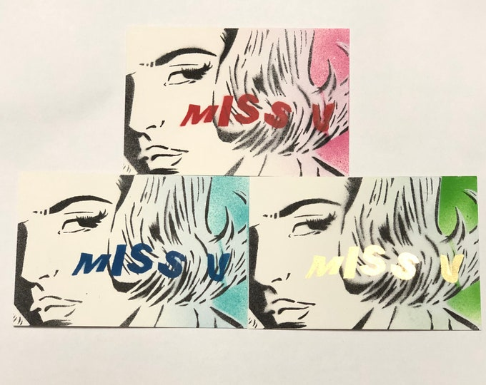 """eye miss u 