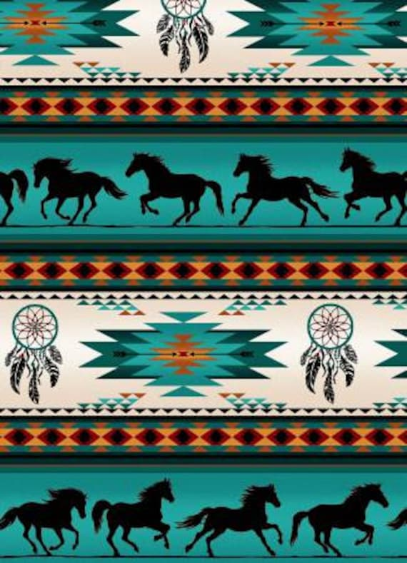 Running Horses Dreamcatchers And Native Designs Etsy