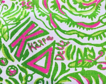 0f0d7faae85b4c Lilly Pulitzer Greek Sorority Kappa Delta Square 5 x 4 inch!! This listing  is for one square!!