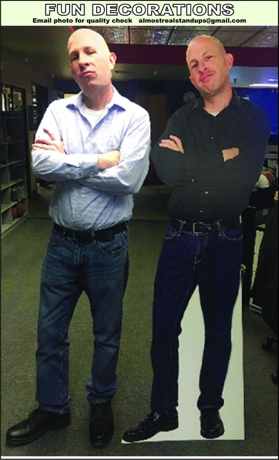 Custom Cardboard Cutout Can T Make It To A Party Send A Etsy