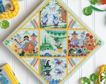 The Wizard of Oz - printed version - Satsuma Street - cross stitch pattern