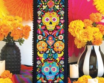 Memento Mori - Satsuma Street - Day of the Dead cross stitch pattern - Instant download PDF