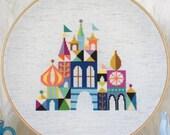 Pretty Little City - Colorful Castle - Satsuma Street Cross stitch pattern PDF - Instant download