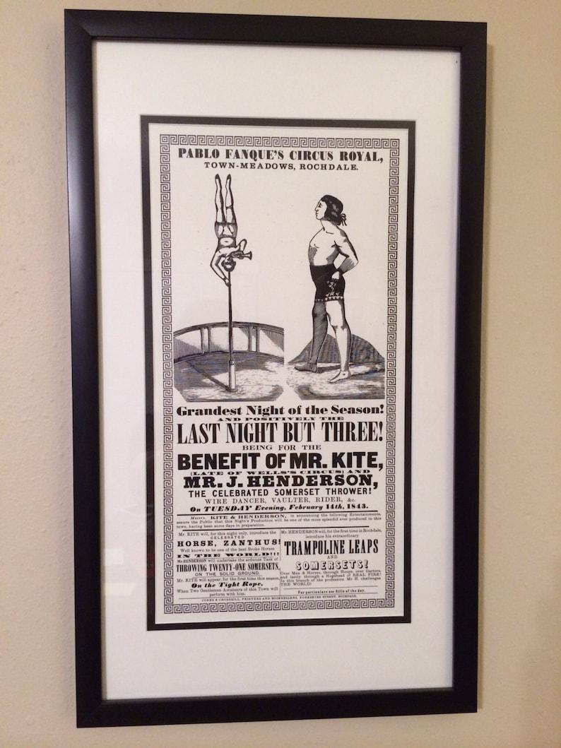 John Lennon's Mr. Kite Poster OLD VERSION image 0