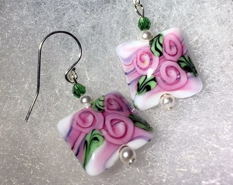 It's Mother's Day and She's Allergic to Flowers? Send Rose Bouquet Earrings!
