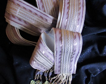 LAVENDER EVENING SASH - Or Handfasting Cord