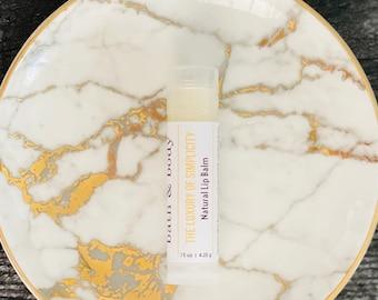 Artisan Bath & Body's Natural Lip Balm   The Luxury Of Simplicity   Dry Lips Salve   Unflavored Lip Moisturizer   Vegetarian Lip Balm Stick