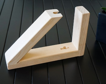 Wooden stand for boomerang. Universal Boomerang holder. Wood stand. Personalization available!