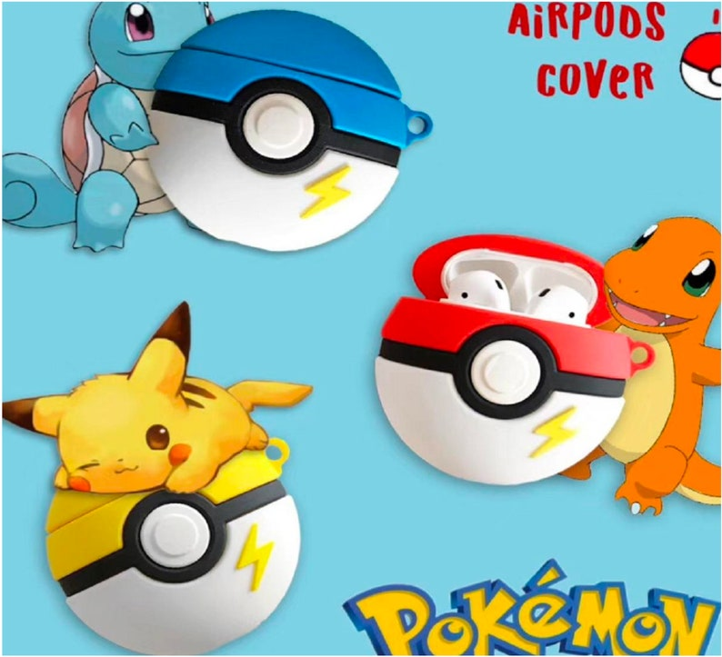 CUTE SILICONE CASE Cover Pokemon Art