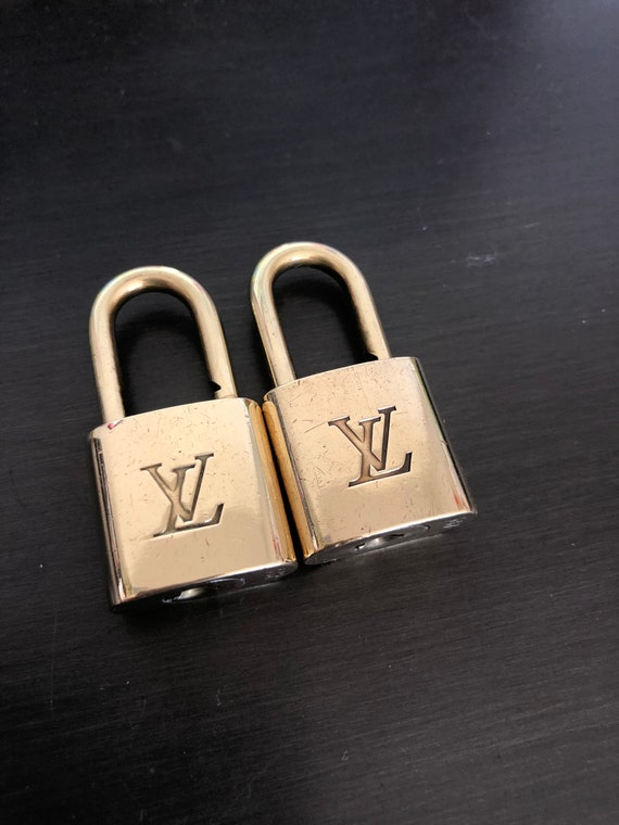 Louis Vuitton padlock and NO KEY #332 and 327 lock