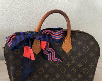 Silk Twilly Scarf Twill Handbag bandeau bandeaux Handle Wrap Purse Scarves Hair Bow Ribbon #45