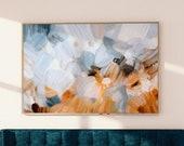 Grasslands, Abstract art, art prints, prints wall art, calm abstract art print, serene wall art, mid-century modern art, limited edition