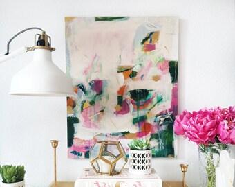 La Vida Abstract Painting, wall art