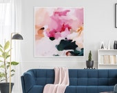 Elle,Abstract art, art prints, prints wall art, large wall art, abstract,  wall art prints, extra large wall art, pink abstract