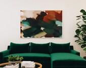Tierra, Abstract art, art prints, neutral, earthy, mid-century modern art, wall art limited edition