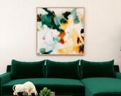 Reverie, green wall art, contemporary art, neutral wall art, serene art print, limited edition, 1 of 10