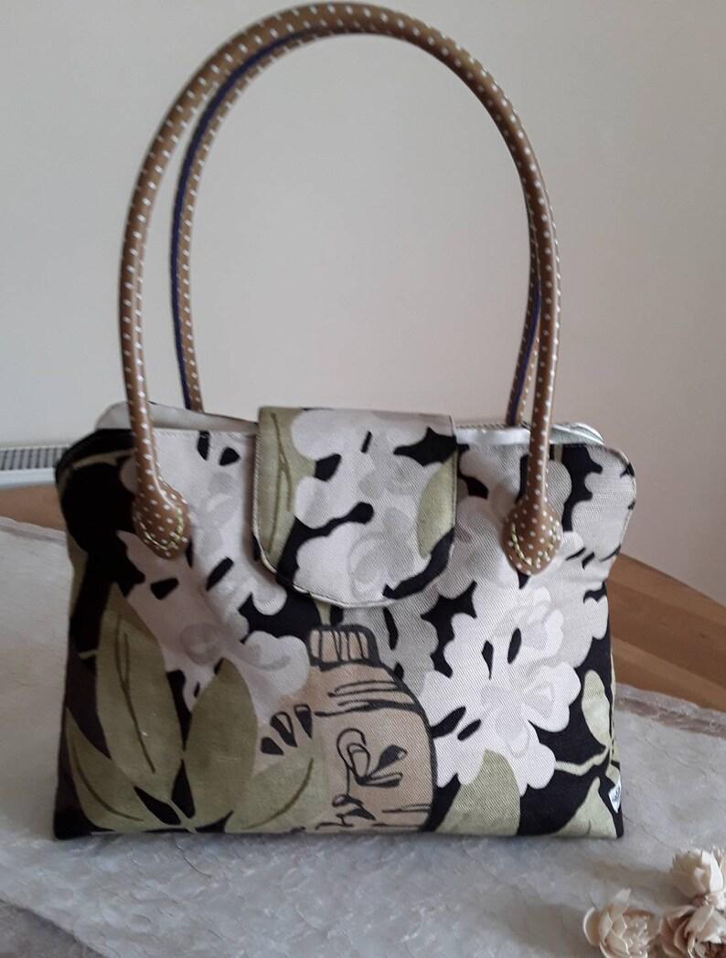 21be4dd2ea7d9 Leinen-Handtasche Umhängetasche Oriental japanische Laterne