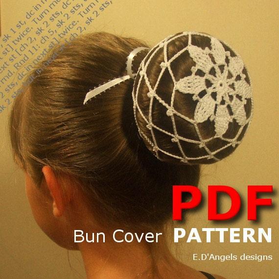 Crochet Bun Cover Pattern Crochet Pattern Crochet Etsy