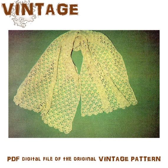 Crochet Pattern Lacy Shawl Pattern Crochet Shawl Pattern Etsy