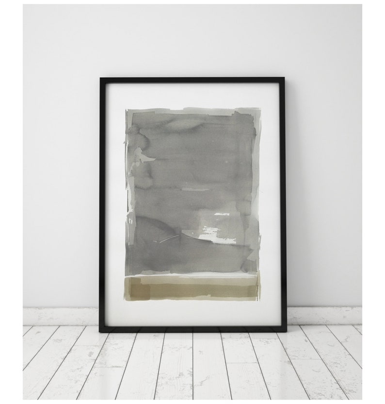 Original Watercolor Painting Abstract Painting Fine Art image 0