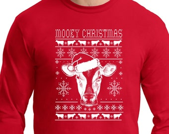 Cow Sweater Etsy