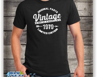 40th Birthday Shirt Awesome Since 1979 40 Years Old Born In 1979born 79 Vintage Limited Edition