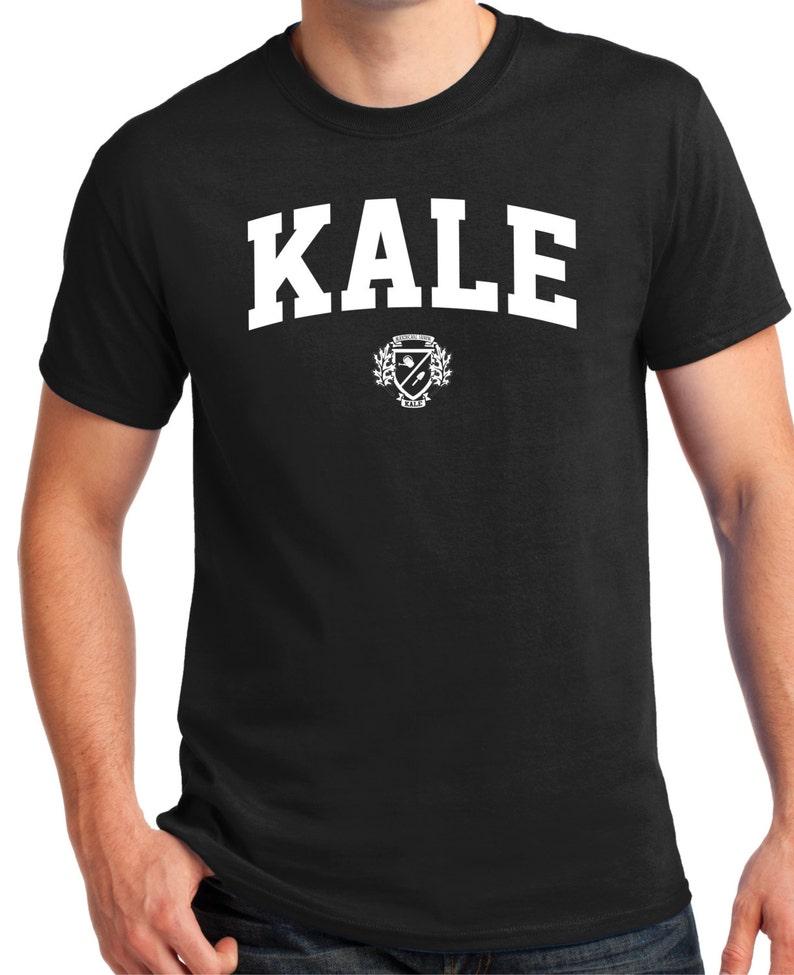 ed1cae8a0c972e KALE T SHIRT Eat Kale Eat healthy Yummy Kale Kale Tee | Etsy