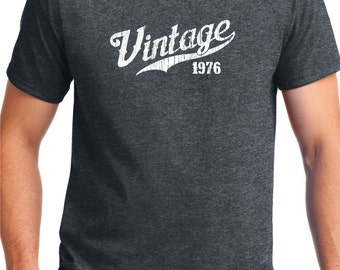 Awesome 1976 Birthday Gift -VINTAGE 1976 Shirt -Tee -for son- T-Shirt -Gift for Him -  Limited Edition 1976