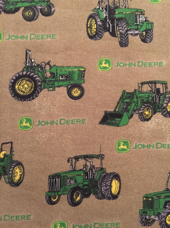 John Deere Travel Pillowcase