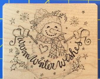 Warm Winter Wishes / Christmas / Inkadinkado, Inc.