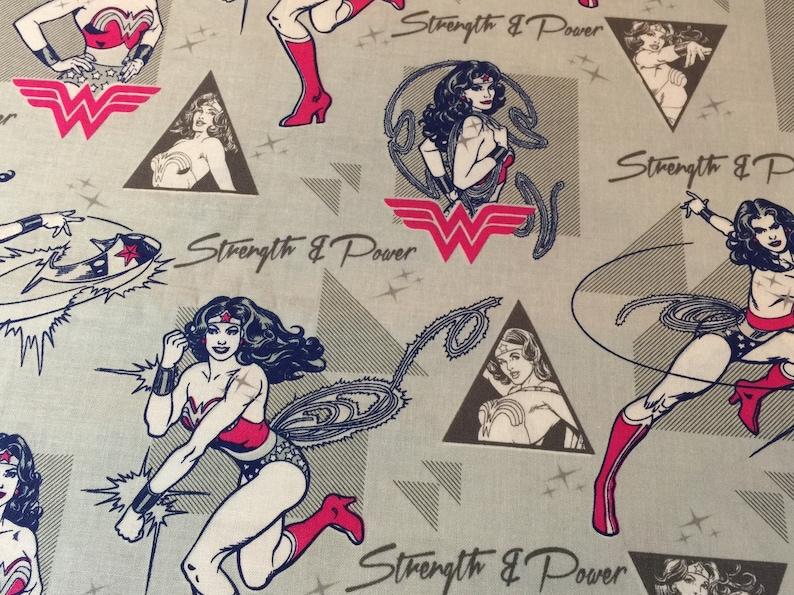 Travel Pillow Case   Child Size Pillow Case  Wonder Woman  Standard or Queen Pillow Case   Super Hero