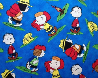 Travel Pillow Case /  Child Pillow Case / Charlie Brown and Friends / Peanuts