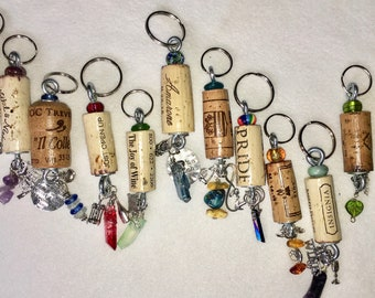 Designs your own Special Order Wine Cork-Key Chain