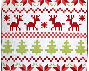 Fair Isle PDF Quilt Pattern