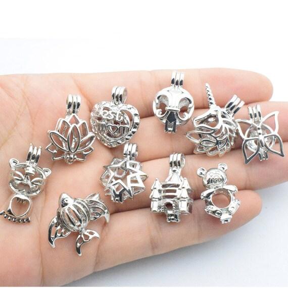 Boîte magique de boîte, Poké Ball, Ball, Poké souhait ouvert Mix 10 gros peut, cloche de palais, cage aromathérapie en boîte, perle Charms pendentifs 8b53e7