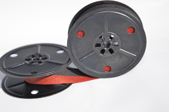 Olympia SG1 Typewriter Ribbon Blk//Red Twin Spool
