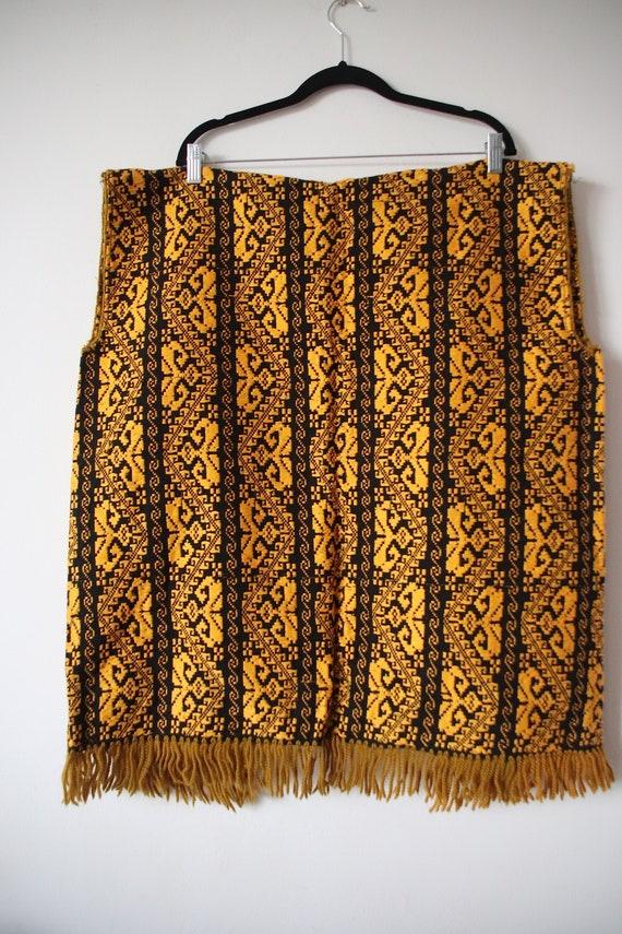 Vintage Afghan Traditional Vest. Afgan Vest, Card… - image 6